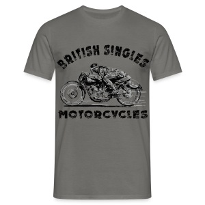 British Singles Motorcycles - Men's T-Shirt