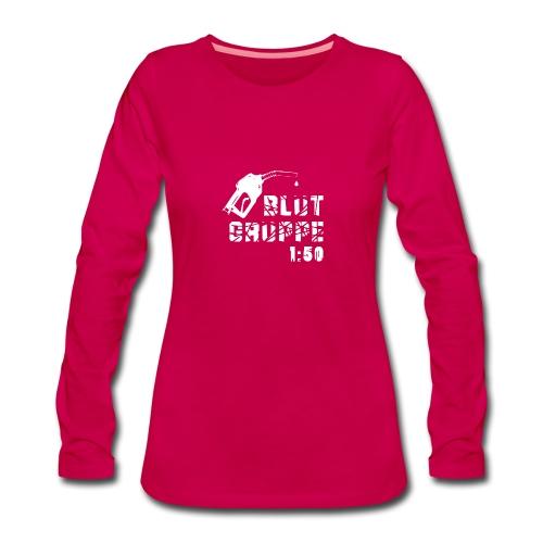 Blutgruppe 1:50 - Frauen Premium Langarmshirt - Frauen Premium Langarmshirt