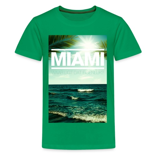 Miami tienershirt - Teenager Premium T-shirt