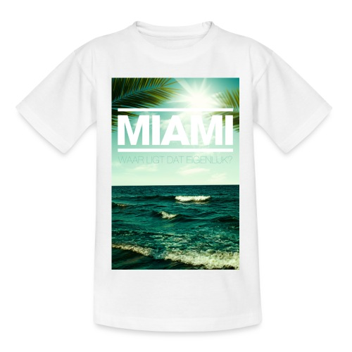 Miami tienershirt - Teenager T-shirt