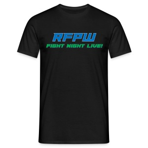 RFPW Fight Night LIVE shirt. - Men's T-Shirt