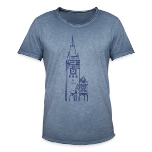 Martinstor Freiburg - Männer Vintage T-Shirt
