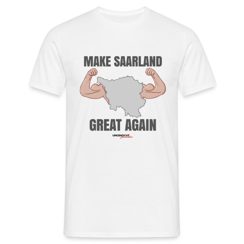 MAKE SAARLAND GREAT AGAIN - Mann - Männer T-Shirt