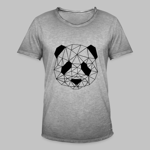 T-shirt Homme Art Panda - Men's Vintage T-Shirt