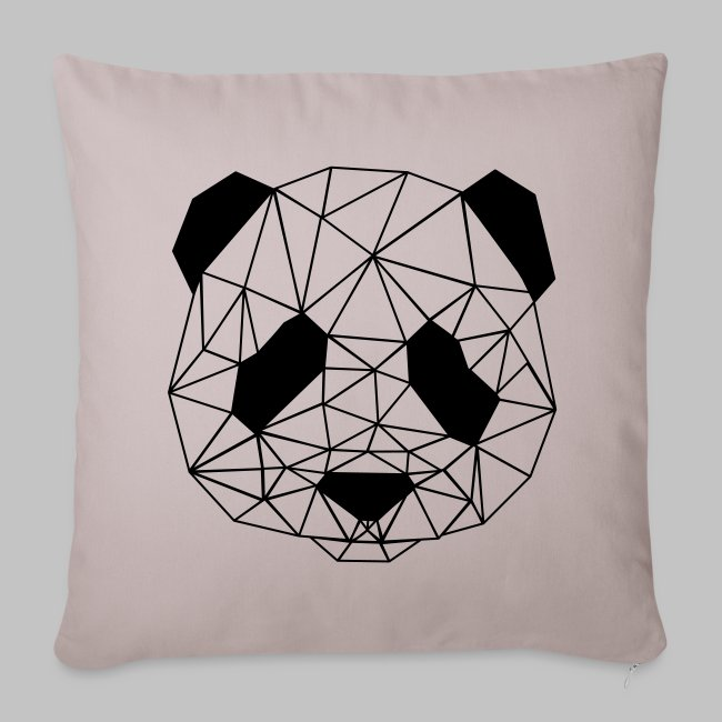 Housse coussin Art Panda