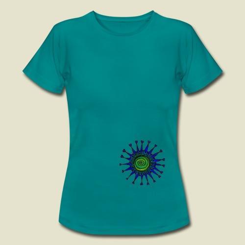Blue Love Damen - Frauen T-Shirt