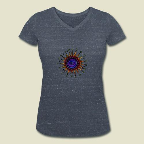 Celebrate Life Öko-Shirt - Frauen Bio-T-Shirt mit V-Ausschnitt von Stanley & Stella