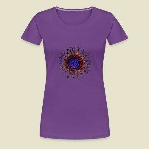 celebrate life - Frauen Premium T-Shirt
