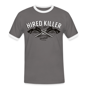 Hired Killer - T-shirt contraste Homme