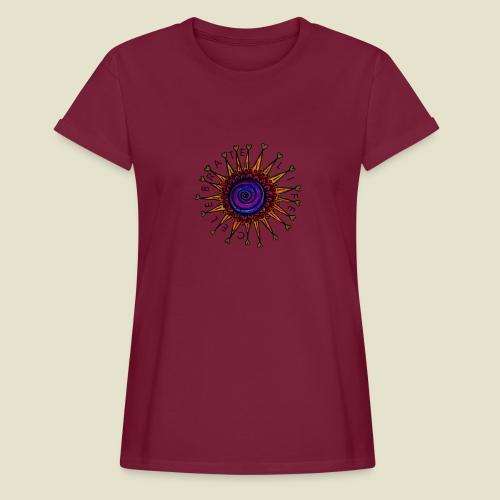 Celebrate Life Damen, Bio-Baumwolle - Frauen Oversize T-Shirt