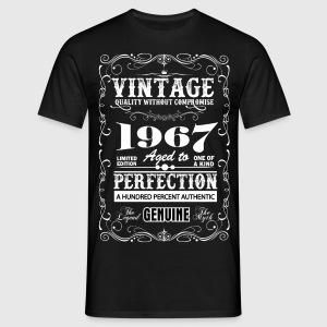 Premium Vintage 1967 Aged To Perfection T-Shirts - Men's T-Shirt
