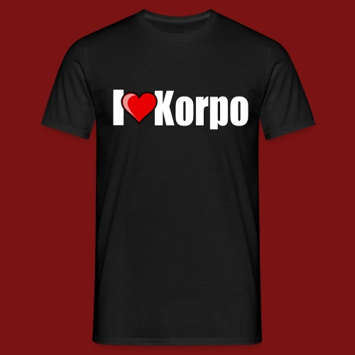 I Hjärta Korpo - T-shirt  - T-shirt herr