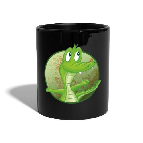 Kroko - Tasse farbig - Tasse einfarbig