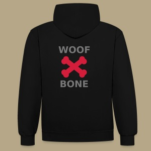 Dogs favorites - Kontrast-Hoodie