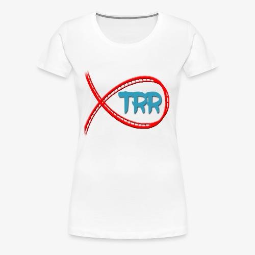 Women's Premium T-Shirt - Women's TRR shirt - A standard shirt to celebrate the channel!
