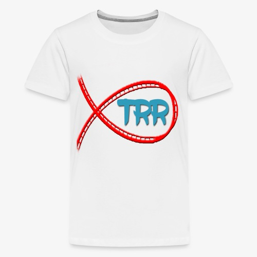 Teenage Premium T-Shirt - TRR Teenager's shirt - no teenager will be moody in this!