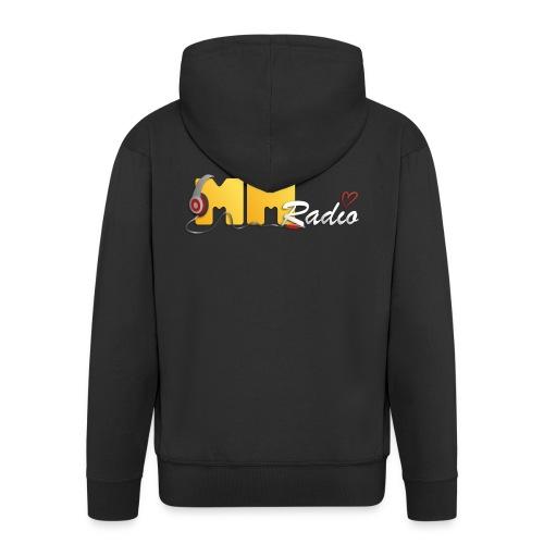 MM Radio Premium herre hættetrøje m. lynlås - Herre premium hættejakke