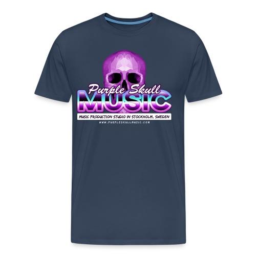 Premium T-shirt (Men, Blue) - Men's Premium T-Shirt