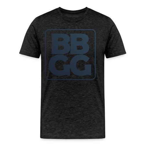 Dark BBGG Recto Verso Logo - Men's Premium T-Shirt