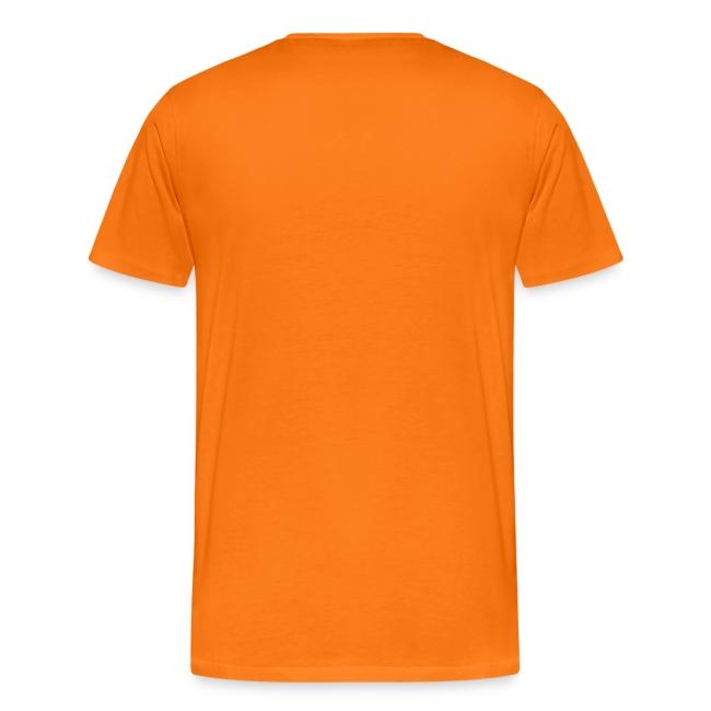 T-shirt met een mening over muziek op Koningsdag