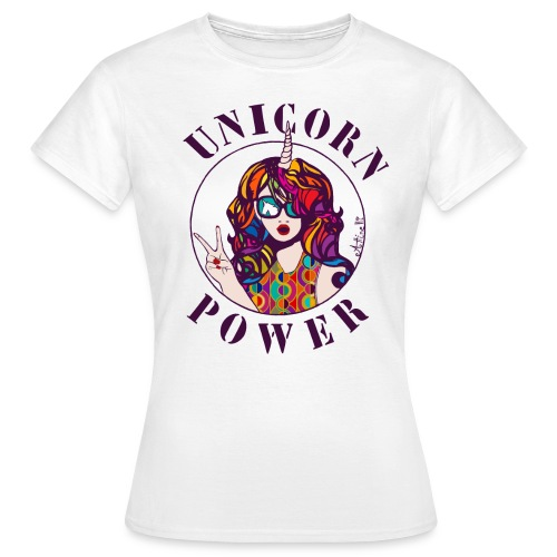 UNICORN POWER - T-shirt Femme