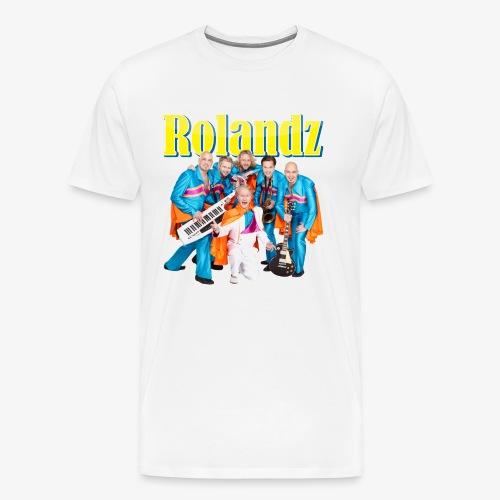 T-Shirt Rolandz - Premium-T-shirt herr
