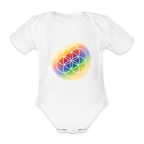 Saat des Lebens - Seelenlicht Orakel - Baby Bio-Kurzarm-Body