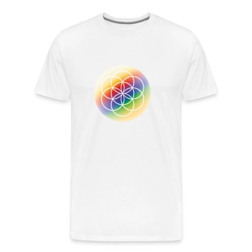 Saat des Lebens - Seelenlicht Orakel - Männer Premium T-Shirt