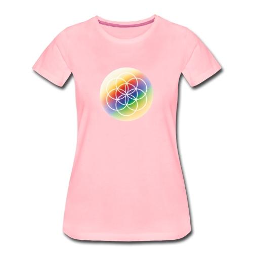 Saat des Lebens - Seelenlicht Orakel - Frauen Premium T-Shirt