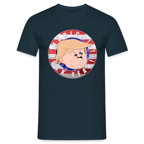 Trump/Murica - T-shirt - T-shirt Homme