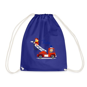 'Firefighter' Fiete Sports Bag - blue - Turnbeutel