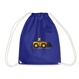 'Digger' Fiete Sports Bag - blue - Turnbeutel
