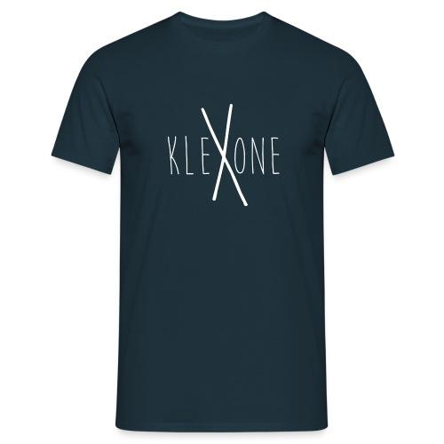 kleXone Shirt Dunkelblau - Männer T-Shirt
