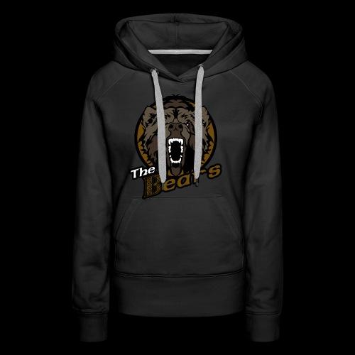 Bears single sided printed womens hoodie - Women's Premium Hoodie