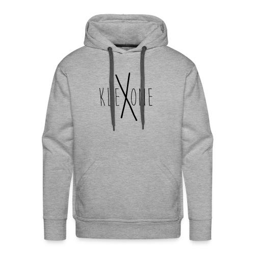kleXone Hoodie Hellgrau - Männer Premium Hoodie