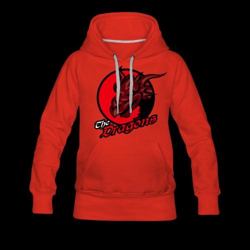 Dragons single sided printed womens hoodie - Women's Premium Hoodie