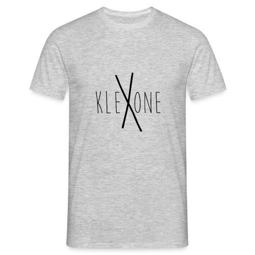 kleXone Shirt Hellgrau - Männer T-Shirt