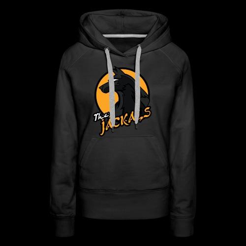 Jackals single sided printed womens hoodie - Women's Premium Hoodie