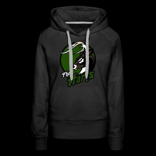 Harts single sided printed womens hoodie - Women's Premium Hoodie