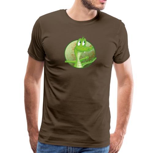 Kroko - Männer Premium T-Shirt - Männer Premium T-Shirt