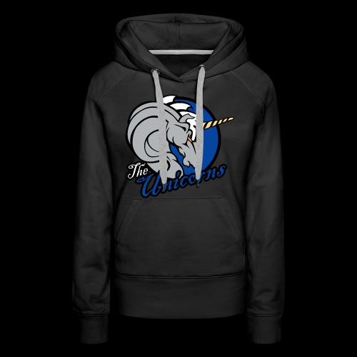 Unicorns single sided printed womens hoodie - Women's Premium Hoodie