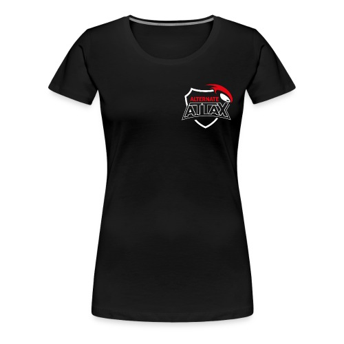 ALTERNATE ATTAX SUPPORTER PREMIUM FEMALE - Frauen Premium T-Shirt
