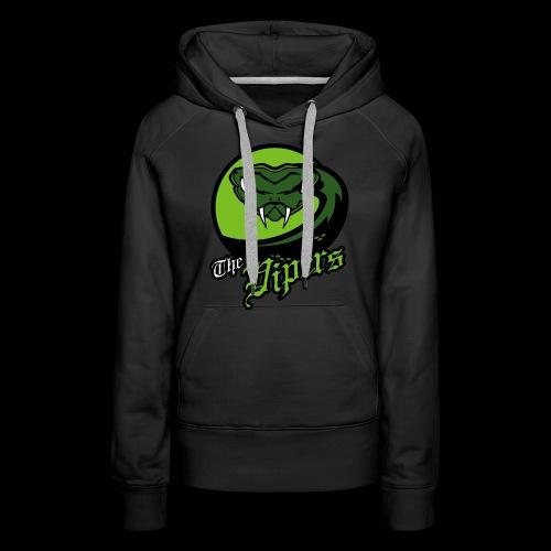 Vipers single sided printed mens hoodie - Women's Premium Hoodie