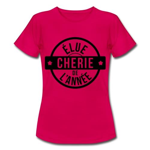 élu chérie de l'année - T-shirt Femme