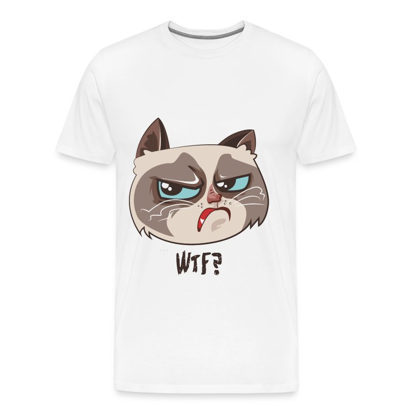 katzen t shirt mit katzenmotiv wtf 3 t shirt spreadshirt. Black Bedroom Furniture Sets. Home Design Ideas