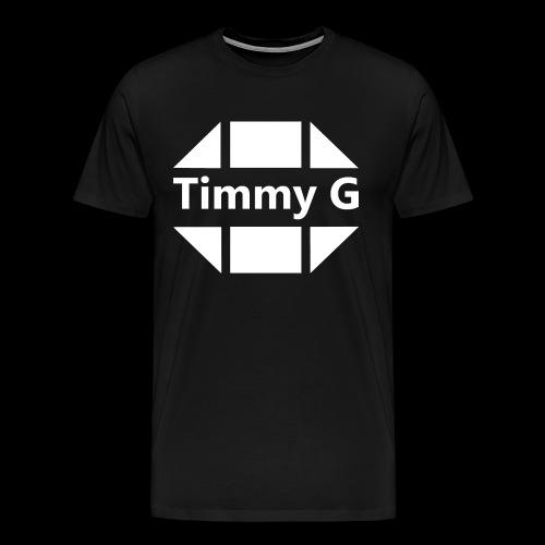 Timmy G White - T-Shirt Men - T-shirt Premium Homme