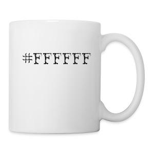 #FFFFFF - Tasse
