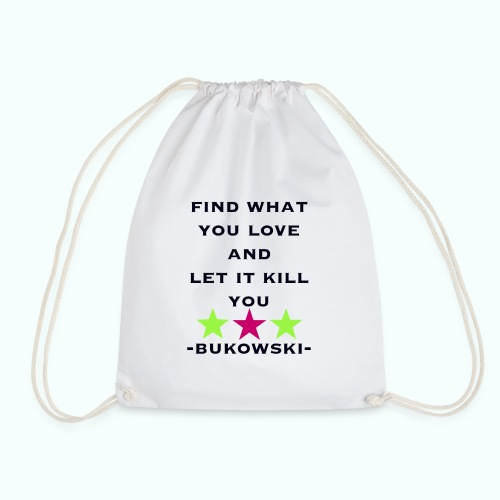 bukowski  Taschen & Rucksäcke - Drawstring Bag