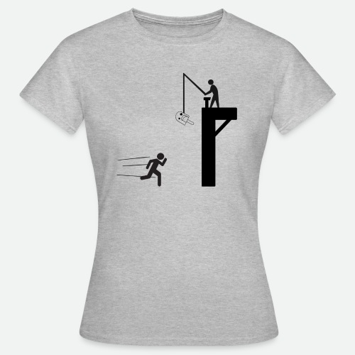 Camiseta - A por el Polo! Negro - Damisela - Camiseta mujer