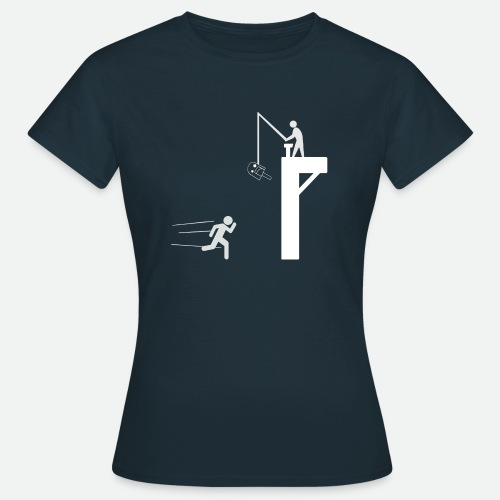 Camiseta - A por el Polo! Blanco - Damisela - Camiseta mujer